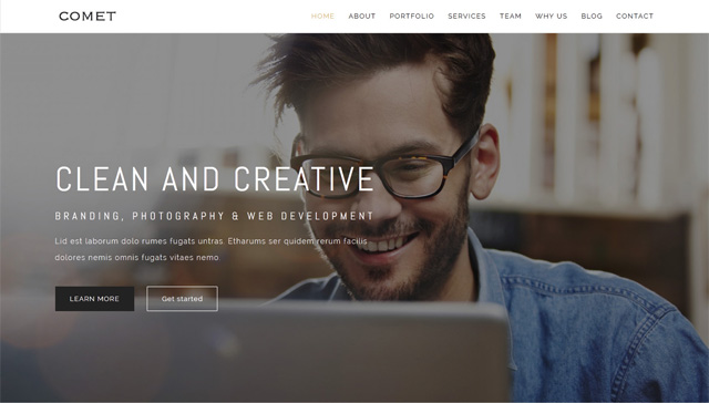 Comet - Creative Multipurpose Template