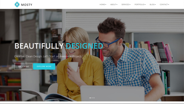 Mosty - Responsive Business Template