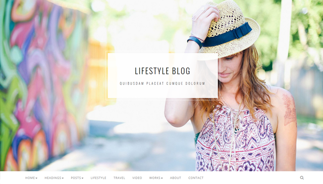 Napoca - Creative Blog Template